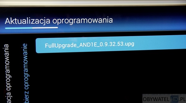 Philipsie PFS8109 - oprogramowanie beta
