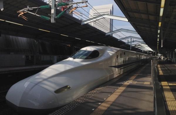 Shinkansen Fot. Zuzanna Gill