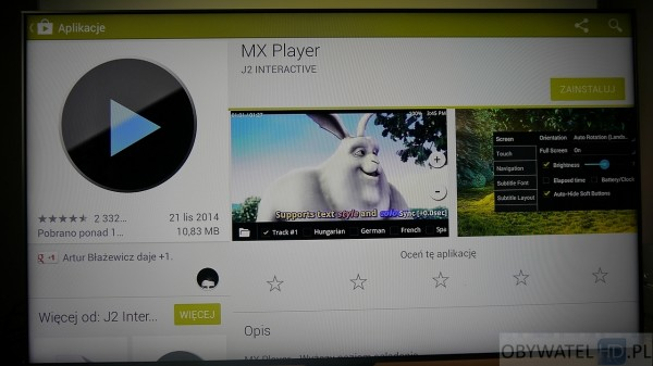 Android TV - MX Player