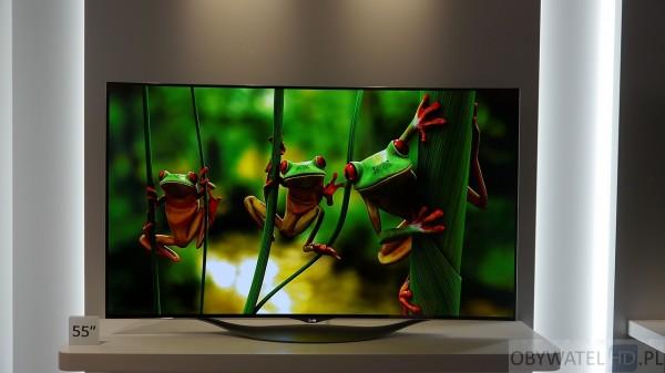 IFA 2014 LG OLED - żaby