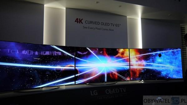 IFA 2014 LG OLED - 65 cali 4K 2