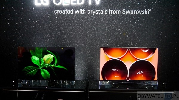 IFA 2014 LG OLED - Swarovski