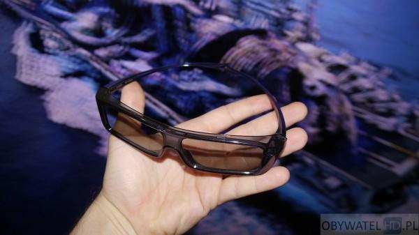 Panasonic AX900 - 3D okulary