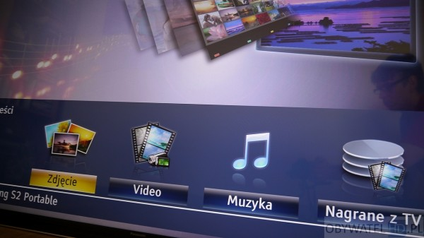 Panasonic AX900 - multimedia - rodzaje