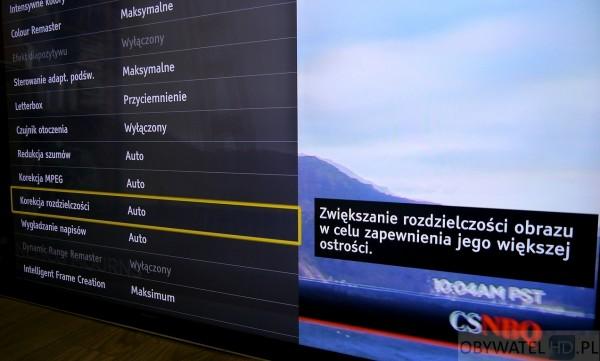 Panasonic AX900 - wyjaśnienie opcji
