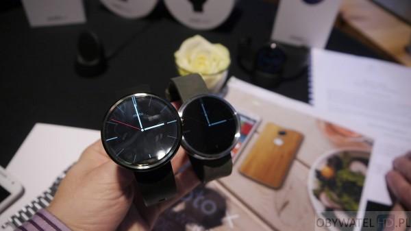 Motorola - Moto 360 dwie wersje