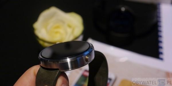 Motorola - Moto 360 stalowa koperta