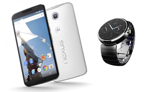 Motorola - Nexus 6 i Moto 360