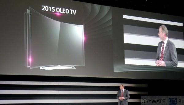 CES 2015 - LG OLED wyginany na żądanie