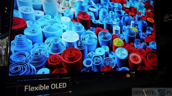 LG wyginany OLED