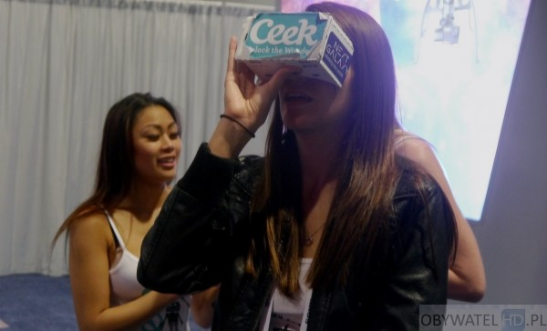 VR dziewczyna