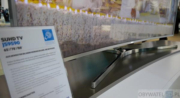 Samsung Roadshow 2015 - JS9500 podstawka