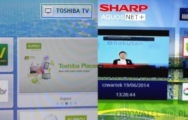 Sharp i Toshiba