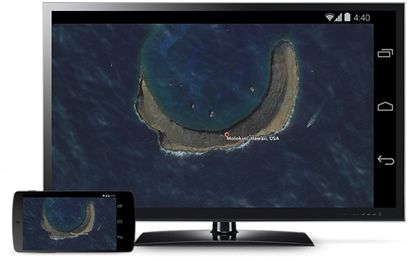 Google Cast Screen