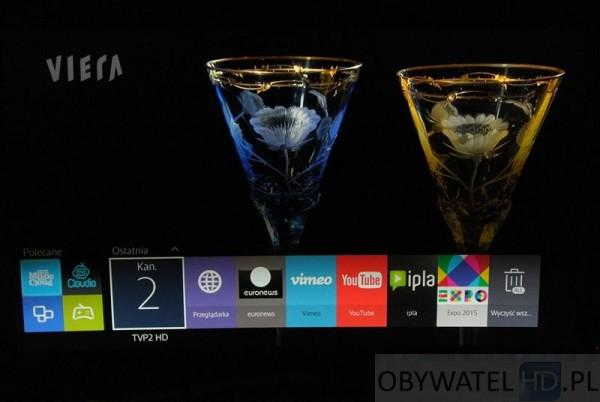 Samsung JS9000 - nowy smart hub