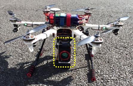Dron z podczerwienią 1 Fot. Nippon Avionics