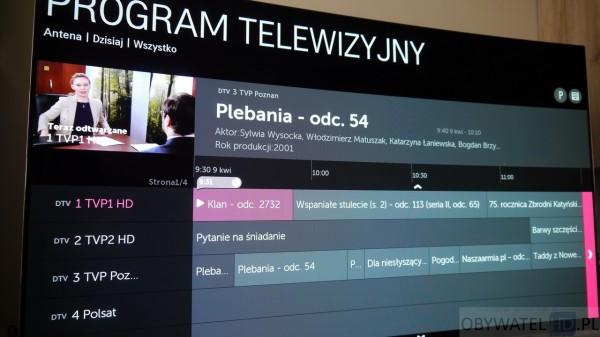 OLED LG EC930V - TV - EPG