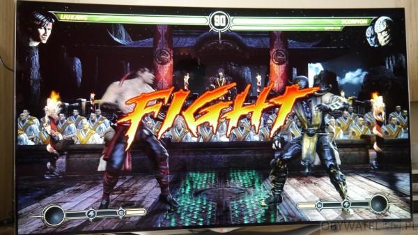 OLED LG EC930V - gry - Mortal Kombat