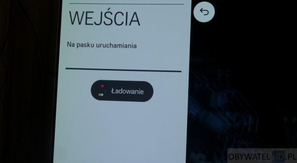 OLED LG EC930V - webOS - loading