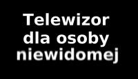 Telewizor dla osoby niewidomej. Jaki kupić?