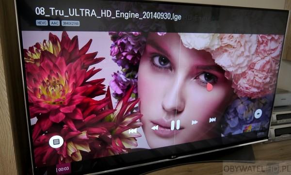 LG UF950V - odtwarzacz multimediów