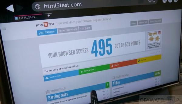 LG UF950V - www HTML5