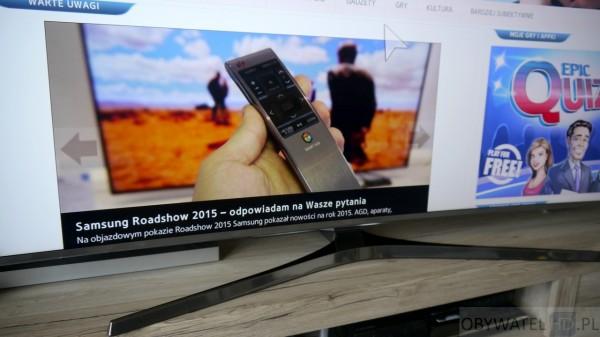Samsung JS9000 - podstawka