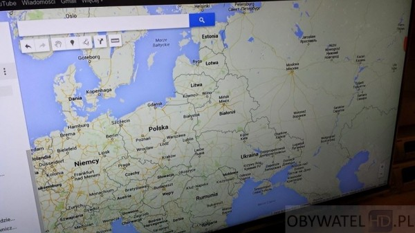 Smart TV Google Maps