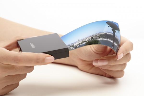 Giętki ekran - Samsung
