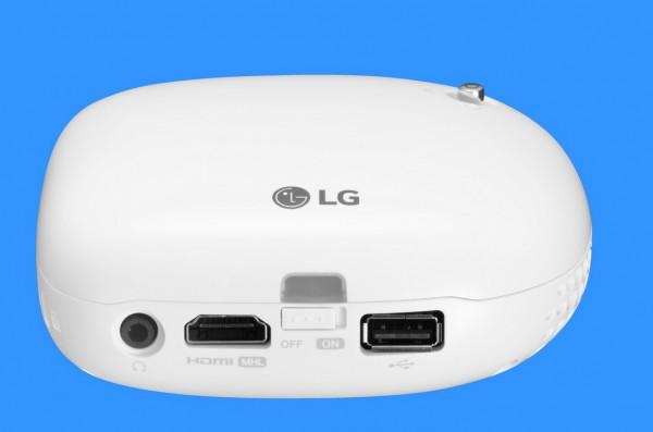 LG Minibeam Nano-PV150G złącza