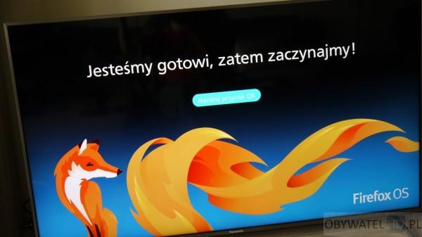 Panasonic CX700 - Firefox OS zaczynamy