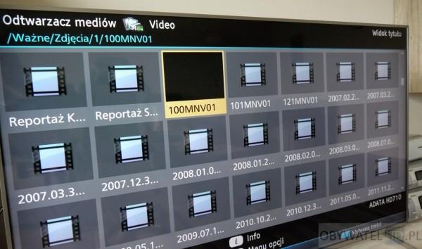 Panasonic CX700 - odtwarzacz - katalogi