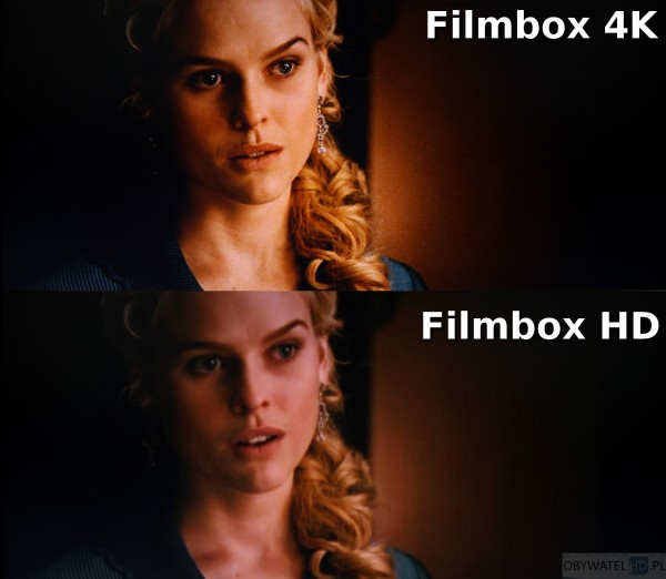 Filmbox Live - Kruk - 4K vs HD 1