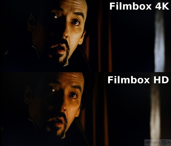 Filmbox Live - Kruk - 4K vs HD 2