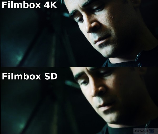 Filmbox Live - Londyński bulwar - 4K vs SD 1