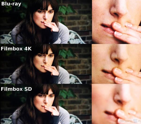 Filmbox Live - Londyński bulwar - Blu-ray vs 4K vs SD 1