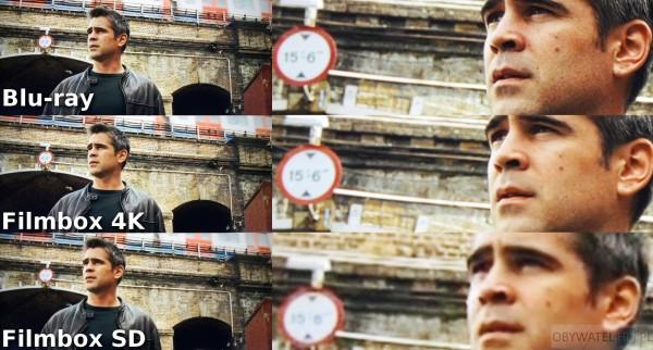 Filmbox Live - Londyński bulwar - Blu-ray vs 4K vs SD 2