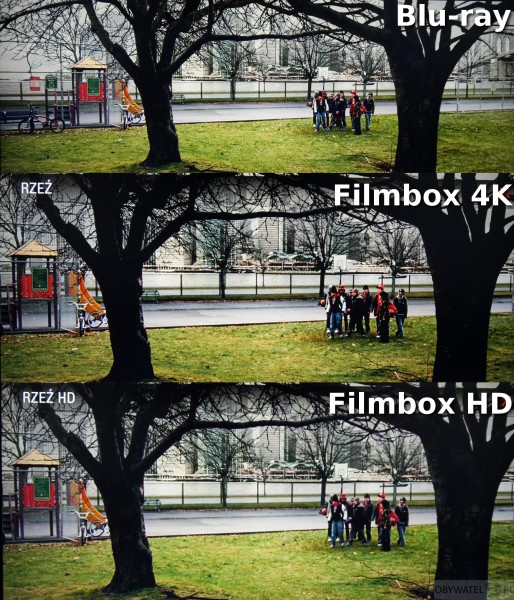 Filmbox Live - Rzeź- proporcje