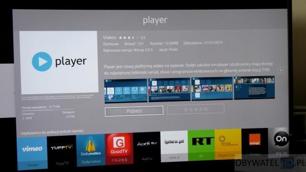 Samsung Tizen TV - Smart TV - Player 2