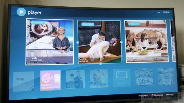 Samsung Tizen TV - Smart TV - Player