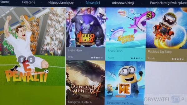 Samsung Tizen TV - Smart TV - gry