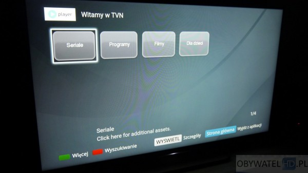 Sony W755C - VOD Player