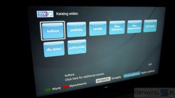 Sony W755C - VOD TVP