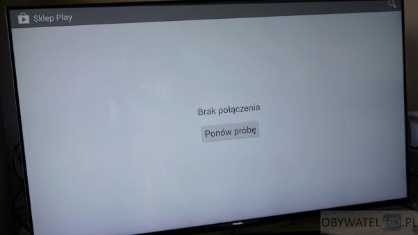 Torrenty z telewizora - Google Play Brak połączenia