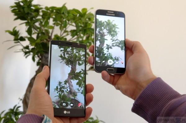 LG G4 vs Samsung Galaxy S6 - dwie komórki i bonzai
