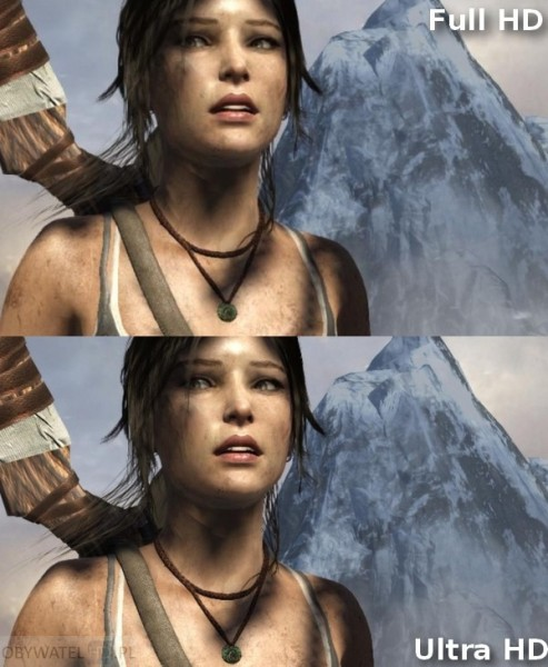 Lara Full HD vs Ultra HD 2