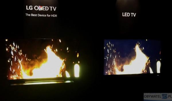 OLED vs LCD LED