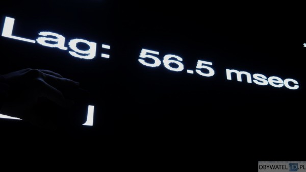 LG EG960V OLED 4K - gry - input lag