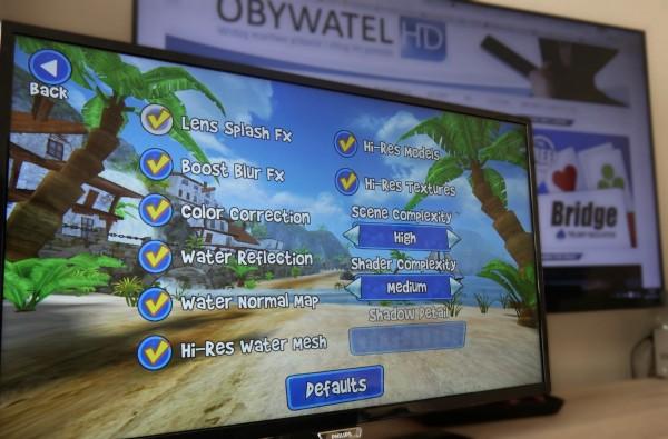 Philips PFH5500 - gry - Beach Buggy ustawienia
