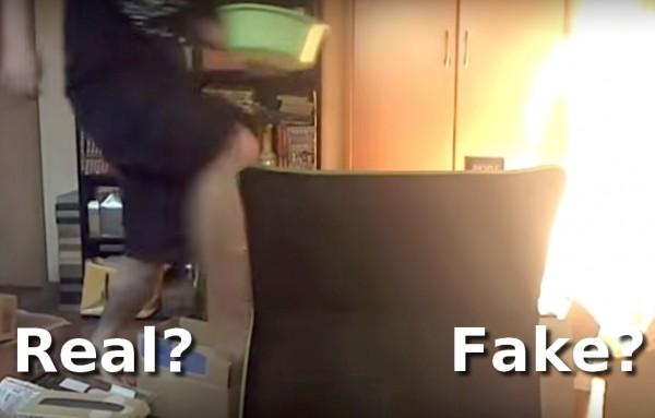 Spalił dom w czasie streamingu - real czy fake